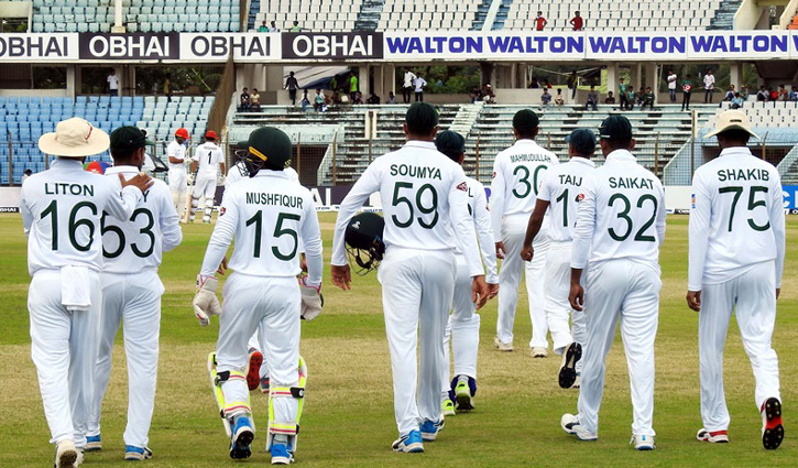 টেস্ট ক্রিকেটে আফগানিদের নিচে বাংলাদেশ।