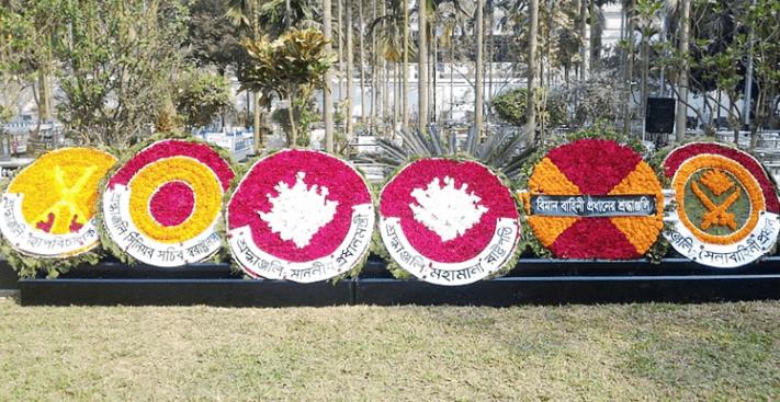 পিলখানা হত্যাকাণ্ডে শহীদের প্রতি রাষ্ট্রপতি ও প্রধানমন্ত্রী শ্রদ্ধা