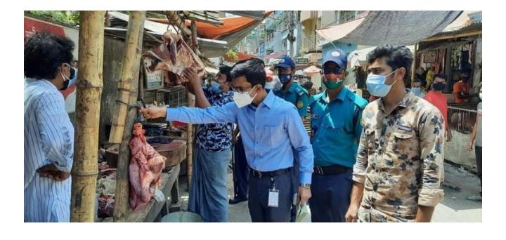 রাজশাহী নগরীতে ৫ দোকানের জরিমানা করেছে ভোক্তা অধিদপ্তর