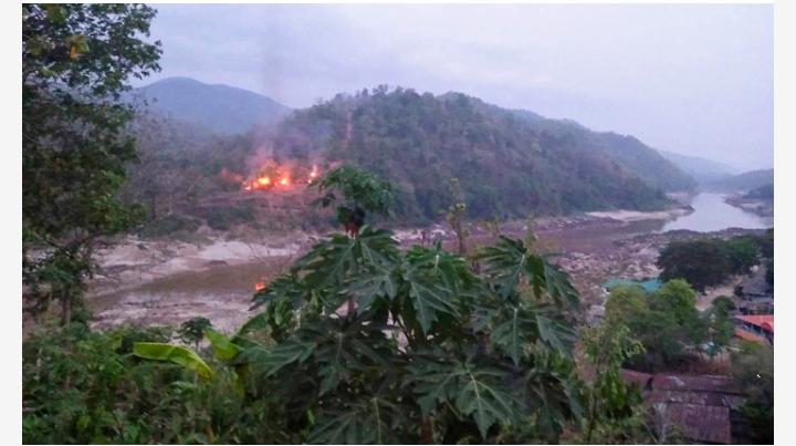মিয়ানমার সেনাবাহিনীর একটি ঘাঁটি দখল