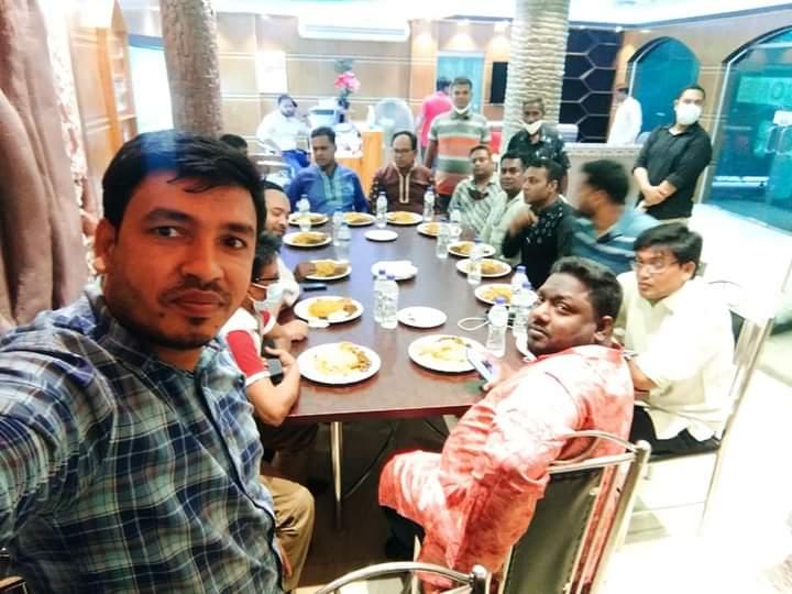 রাজশাহী মডেল প্রেসক্লাবের ইফতার ও দোয়া মাহফিল