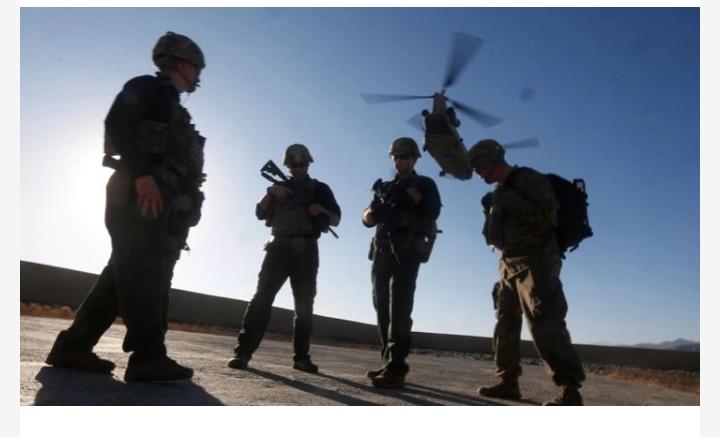 আফগানিস্তান থেকে সেনা প্রত্যাহার করছে যুক্তরাষ্ট্র