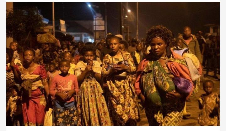 কঙ্গোতে বিপুল আগ্নেয়গিরির অগ্নুৎপাত, কয়েক হাজার মানুষ গৃহছাড়া