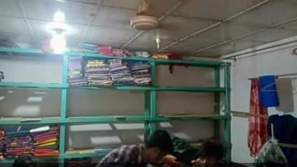 রাজশাহীর দুর্গাপুরে টেইলার্স ও কীটনাশকের দোকান চুরি