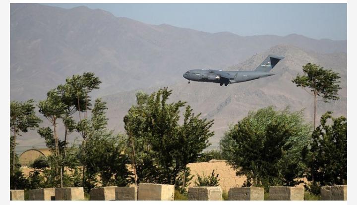 ২০ বছর পর আফগানিস্তানে গড়া প্রধান ঘাঁটি ছাড়লো যুক্তরাষ্ট্র