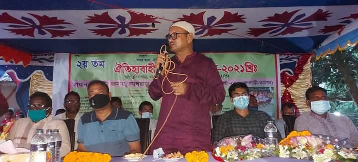 তানোরে ওরাও সম্প্রদায়ের কারাম উৎসব অনুষ্ঠিত