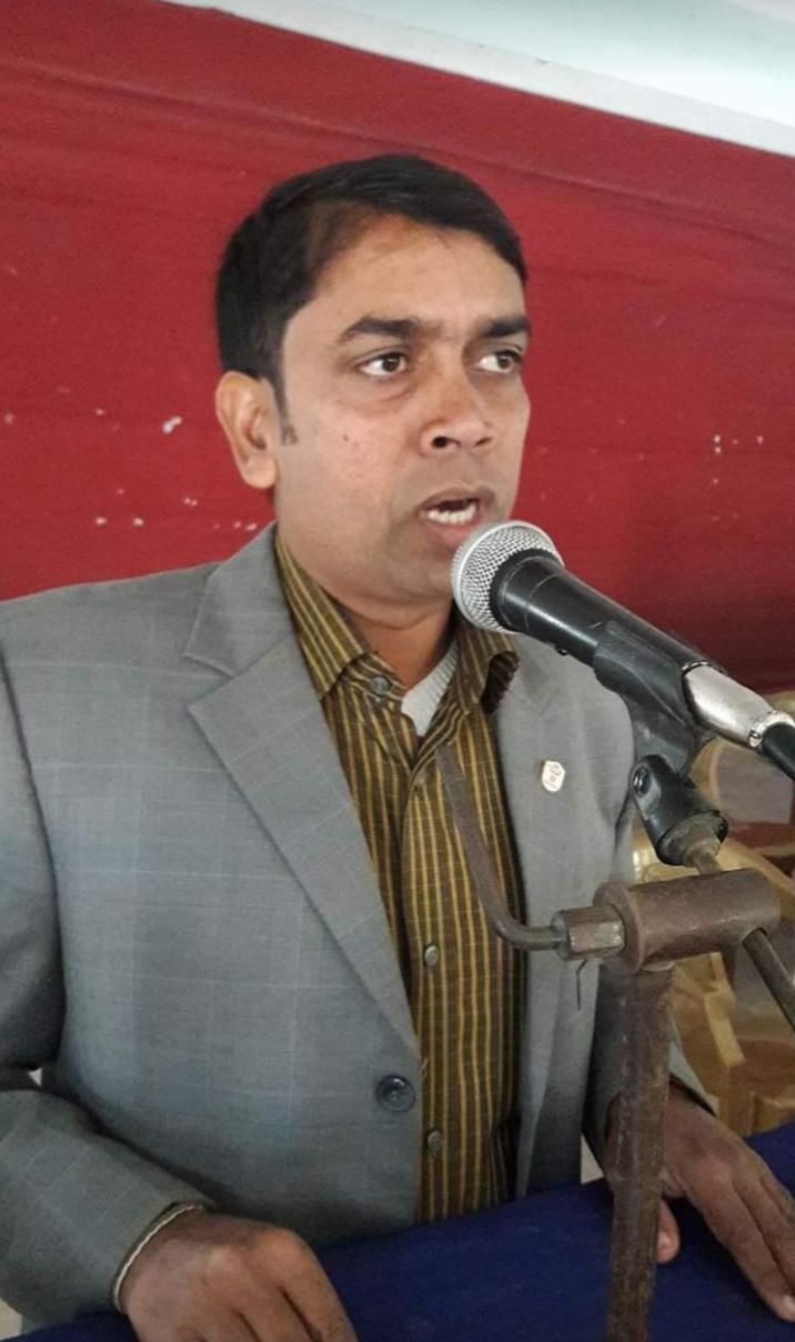 তানোর আওয়ামীলীগের সাধারণ সম্পাদক পদপ্রার্থী রাকিবুল সরকার পাপুল