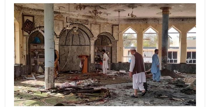 আফগানিস্তানে মসজিদে বোমা হামলা, নিহত-৫০